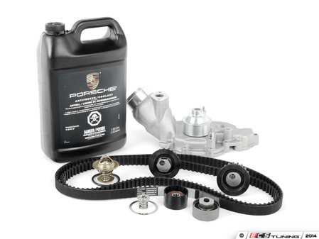 ES#2642882 - 94410515704KT8 - ECS Ultimate Timing Belt Kit With Water Pump - Everything you need to perform a complete timing belt service on your 944 Turbo - Assembled By ECS - Porsche
