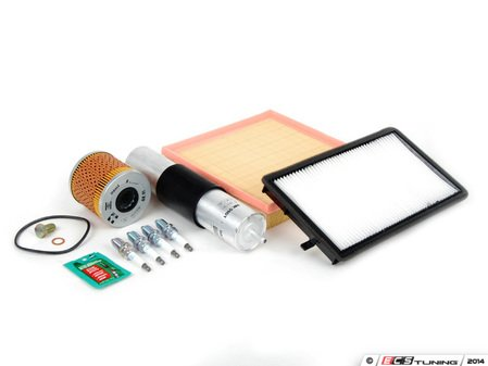 """ES#2723025 - E36M42IN2dKT - """"Dry"""" Inspection II Service Kit - Includes spark plugs and all filters - add your preferred fluids for a complete service. - Assembled By ECS - BMW"""