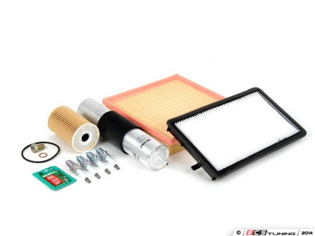 """ES#2723028 - E36M42IN2PLcdKT - """"Dry"""" Inspection II Service Kit - Includes spark plugs and all filters - add your preferred fluids for a complete service. - Assembled By ECS - BMW"""