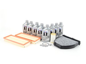 ES#2717992 - 2730940404KT1 - C300 4Matic 'B' Service Kit - Everything you need to perform a 'B' service - Genuine Mercedes Benz - Mercedes Benz