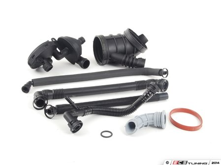 ES#2603042 - E46M54OSW3KT - Oil Separator Kit - Level 2 - A truly complete kit for oil separator system maintenance - Assembled By ECS - BMW