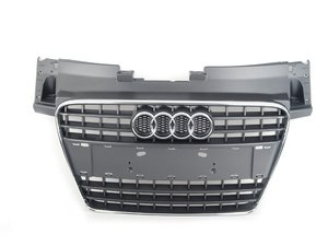 ES#448479 - 8J0853651A1QP - Grill Assembly - Grey - Keep your car in factory condition with a new grille  - Genuine Volkswagen Audi - Audi