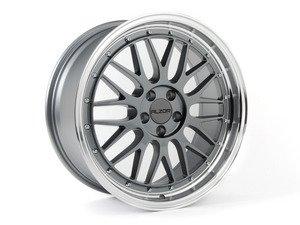 """ES#2719038 - 020-13GMKT - 18"""" Style 020 Wheels - Set Of Four - 18""""x8"""" ET25 / 18""""x9"""" ET25 5x100 - Gunmetal with machined lip - Alzor - Audi Volkswagen"""