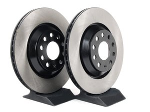 ES#2702160 - 1K0615601N - Rear Brake Rotors - Pair (310x22) - Restore the stopping power in your vehicle - OP Parts - Audi Volkswagen