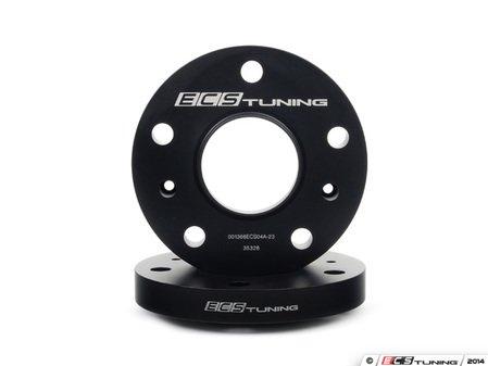 ES#2855873 - 001366ecs23KT1 - ECS Wheel Spacers - 23mm - One pair of wheel spacers without lug bolts - ECS - Porsche