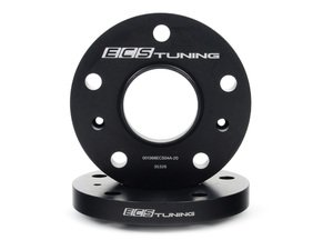 ES#2855872 - 001366ecs20KT2 - ECS Wheel Spacers - 20mm - One pair of wheel spacers without lug bolts - ECS - Audi Volkswagen Porsche