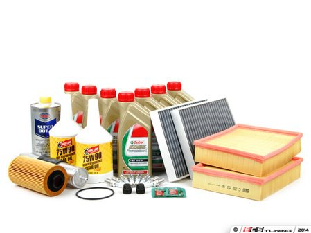 ES#2576980 - E39M5INKT2 - Inspection II Service Kit - Includes all the required parts to service your M5 including Castrol TWS Edge Professional motor oil - Assembled By ECS - BMW