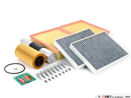 """ES#2723766 - E39M5INKT4 - """"Dry"""" Inspection II Service Kit - Includes spark plugs and all filters - add your preferred fluids for a complete service - Assembled By ECS - BMW"""