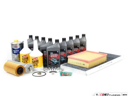 ES#253081 - E53V8IN2 - Inspection II Service Kit - Includes all required parts to service your BMW - Assembled By ECS - BMW