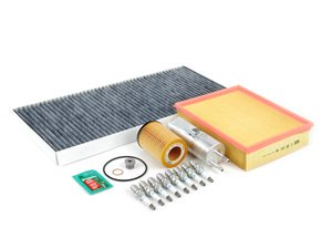 """ES#2723160 - E53N62IN2dKT - """"Dry"""" Inspection II Service Kit - Includes spark plugs and all filters - add your preferred fluids for a complete service - Assembled By ECS - BMW"""