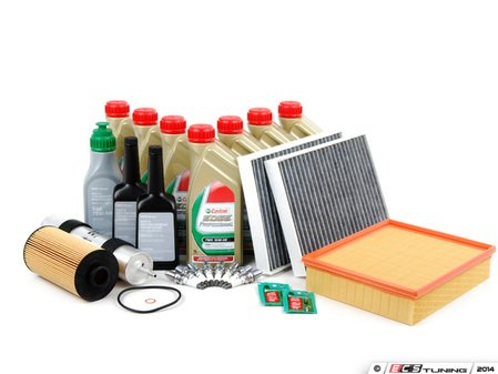 ES#258716 - e39m5in2 - OEM Inspection II Service Kit - Includes all the required parts to service your M5 including Genuine BMW TWS Edge Professional motor oil - Genuine BMW - BMW