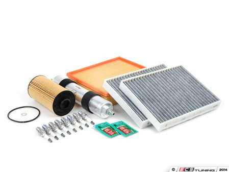 """ES#2723767 - E39M5IN2dKT - """"Dry"""" OEM Inspection II Service Kit - Includes spark plugs and all filters - add your preferred fluids for a complete service - Genuine BMW - BMW"""