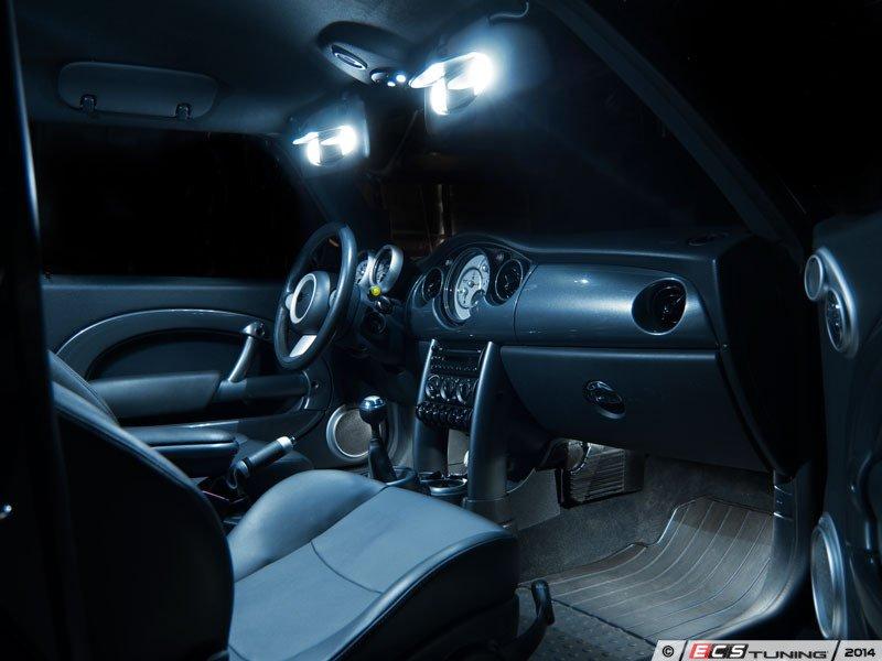 ecs news mini r50 r53 ziza interior led light kits. Black Bedroom Furniture Sets. Home Design Ideas