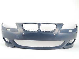 ES#74929 - 51117897208 - Front bumper - Primed and ready for paint - Genuine BMW - BMW