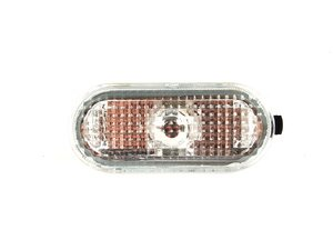 ES#241005 - 1J5949117A - Turn Signal Light - in Fender (Clear Serrated Lens) - MTC - Volkswagen