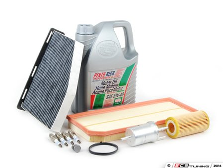 ES#2723757 - 1K1819653BKT5 - 40K Service Kit - Everything you need to perform the recommended 40k mile service - Assembled By ECS - Audi