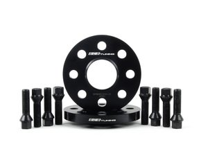 ES#2723082 - 01924ECS02A15KT2 - ECS 15mm Wheel Spacers & ECS Conical Seat Bolt Kit - Aluminum wheel spacers & steel wheel bolt kit made specifically for your MINI's 4x100 bolt pattern - ECS - MINI