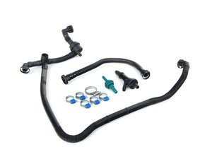 ES#1899536 - 3b0198001 - Emissions Service Kit - Stage 1 - Complete kit to service your problematic PCV and breather hoses - Assembled By ECS - Audi Volkswagen