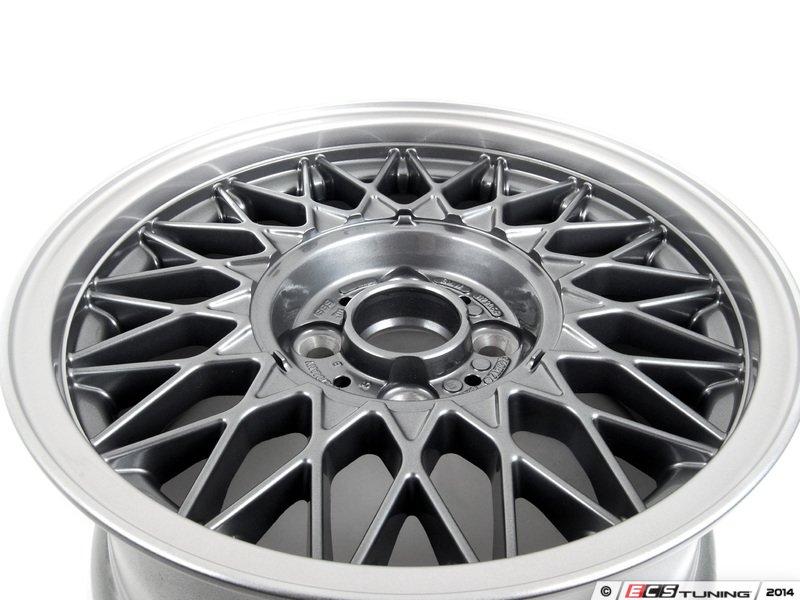 Ecs News Bmw E30 3 Series Nogaro Silver Style 5 Wheels