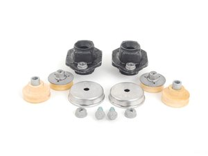 ES#2684818 - 33526768544KT2 - Rear Upper And Lower Shock Mount Kit - Includes all the necessary mounts to install new rear shocks - Assembled By ECS - BMW