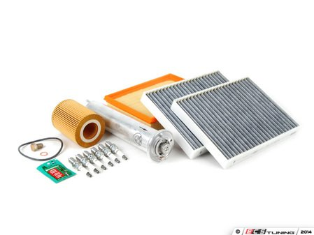 """ES#2723772 - E39M54IN2DGKT - """"Dry"""" Inspection II Service Kit - Includes spark plugs and all filters - add your preferred fluids for a complete service - Genuine BMW - BMW"""