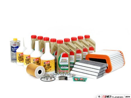 ES#2723121 - E965KTINSP2bKT - Inspection II Service Kit - Includes all required parts to service your BMW including TWS Edge Professional oil and filters - Assembled By ECS - BMW