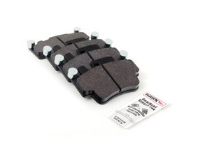 ES#1306365 - HB550N.634 - HP Plus Compound Performance Brake Pad Set - Compound can take the heat at the track and get you home. - Hawk - Porsche