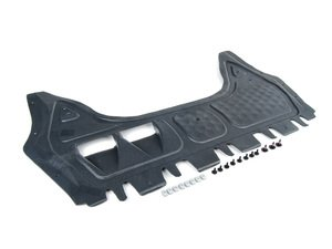 ES#2703309 - 9513345QKT1 - Front Belly Pan Kit - Includes a new belly pan with installation hardware - Assembled By ECS - Audi