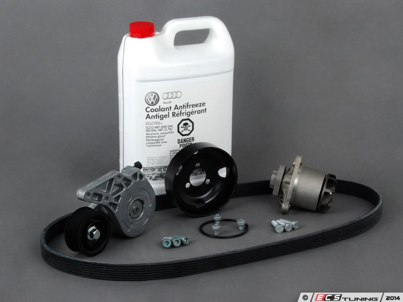 Ecs News Water Pump Replacement Kit For Vw Jetta 12v 94 00