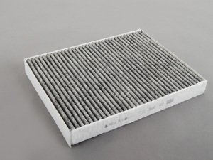 ES#2725444 - 7H0819631A - Charcoal Lined Cabin Filter / Fresh Air Filter - Filter the air coming into your vehicle. - Mann - Audi Volkswagen