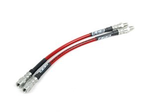Exact-Fit Stainless Steel Brake Lines - Front