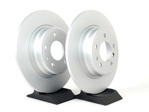 ES#2135691 - 40406168 - Rear Brake Rotors - Pair (324x12) - Features GEOMET protective coating. - Meyle - BMW