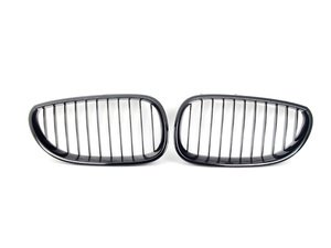 ES#2707865 - 51712155447KT - BMW Performance Blackout Kidney Grille Set - Add style and individuality to your BMW in minutes! - Genuine BMW M Performance - BMW