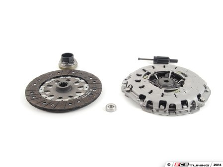 ES#2642998 - 21207531843 - Remanufactured Clutch Kit - Includes clutch disk, pressure plate and clutch release bearing - LUK - BMW