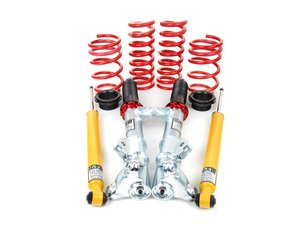ES#1303813 - 52763 - Street Performance Coil Over Kit - Fine tune your suspension for the ultimate in control - H&R - Mercedes Benz