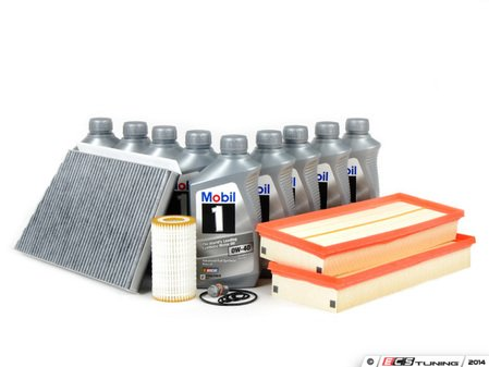ES#2707911 - 0001802609KT3 - 'B' Service Kit - Everything you need to perform a 'B' service - Genuine Mercedes Benz - Mercedes Benz