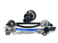 ES#5138 - 06B198479V2UDBLK - Timing Belt Kit - Ultimate With Gates Racing Timing Belt & Performance Pulley Set - Includes ECS Tuning's Lightweight Underdrive Pulley Kit in Black. - Assembled By ECS - Audi Volkswagen