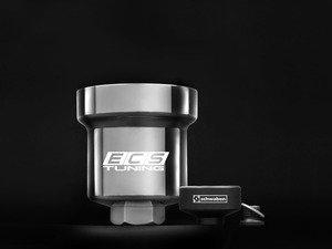 ES#2730471 - 003602ECSKTA03AK - Billet Aluminum Oil Filter Housing With Removal Tool - Polished - Aluminum replacement for plastic OE filter housing with 36mm socket - Assembled By ECS - Audi Volkswagen