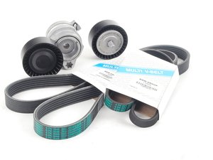 ES#2681241 - 11287549588KT - Accessory Drive Belt Service Kit - Utilizes all genuine BMW components - Genuine BMW - BMW