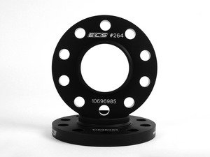 ES#11310 - ECS#262KT - Wheel Spacer Kit - 10mm - Aluminum wheel spacer kit made specifically for your 5x120, 74.1mm center bore BMW. - ECS - BMW