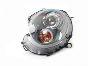 ES#2702864 - 63102347698 - Xenon Headlight Titanium Gray 25 W - Left  - For upgrade to xenon headlights, will need bought in pairs. - Genuine MINI - MINI