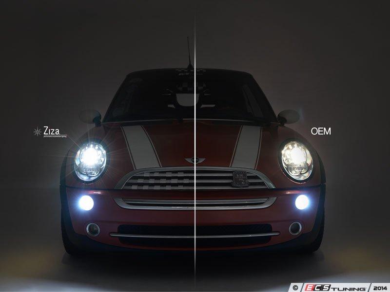 Ecs News Mini Cooper Helix Chrome Projector Headlights