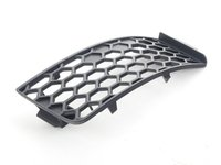 ES#454688 - 8N0807681E3FZ - Air Guide Grille - Black - Left - Keep your exterior looking clean - Genuine Volkswagen Audi - Audi
