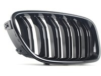 ES#2720762 - 51712352808 - Gloss Black Kidney Grille - right - Straight from the M performance parts bin - Genuine BMW - BMW