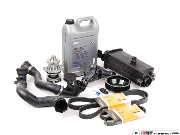 ES#2158107 - ECSE531711-6 - ECS Cooling System Refresh Kit - Level 2 - Stop your cooling problems before they start - featuring a GEBA water pump with a metal impeller - Assembled By ECS -