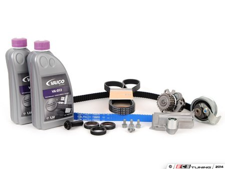 ES#2569783 - 06B198502KT - Ultimate Plus Timing Belt Kit - With Gates Racing Timing Belt - Looking for the best timing belt kit on the market? Look no further than ECS Tuning - Assembled By ECS - Audi