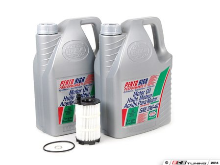 ES#2718160 - 079198405BKT4 - Oil Service Kit - Everything you need to perform an engine oil service - Assembled By ECS - Audi Volkswagen