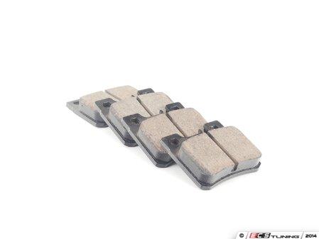 ES#2561762 - 0054201720 - Rear Euro Ceramic Brake Pad Set - Does not include wear sensor - Akebono - Mercedes Benz