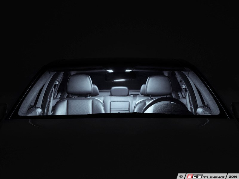 ECS Tuning:: W204 C-Class LED Interior Light Kit - MBWorld