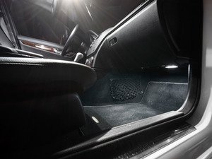 ES#2749025 - W204LEDFTWLKT - W204 LED Footwell Lighting Kit - Upgrade your footwell lights in your W204 C-Class, go from yellow to HID colored white in minutes - ZiZa - Mercedes Benz
